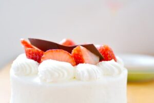 ショートケーキ画像